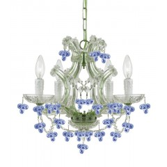 Colored Crystal Chandeliers