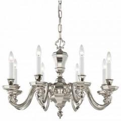 Metropolitan Lighting N1115-613 POLISHED NICKEL CASORIA