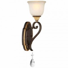 Metropolitan Lighting N1461-652 RAVEN BRONZE W/SUNBURST GOLD H CHATEAU NOBLES