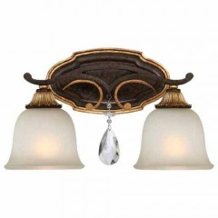 Metropolitan Lighting N1462-652 RAVEN BRONZE W/SUNBURST GOLD H CHATEAU NOBLES