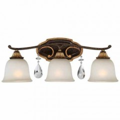 Metropolitan Lighting N1463-652 RAVEN BRONZE W/SUNBURST GOLD H CHATEAU NOBLES