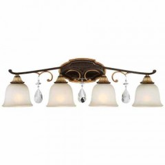 Metropolitan Lighting N1464-652 RAVEN BRONZE W/SUNBURST GOLD H CHATEAU NOBLES
