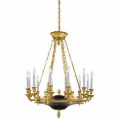 Metropolitan Lighting N2247 Glorious Gold with Black Accents Metropolitan