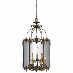 Metropolitan Lighting N2335-OXB OXIDE BRASS FOYER