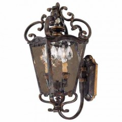 Metropolitan Lighting N3246-270 TERRAZA VILL AGED PATINA WITH GOLD LEAF ACCENTS METROPOLITAN COLLECTION
