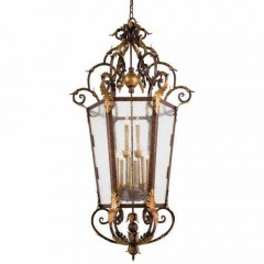 Metropolitan Lighting N3642-355 GOLDEN BRONZE ZARAGOZA
