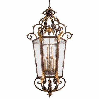 Metropolitan Lighting N3642-355 GOLDEN BRONZE ZARAGOZA