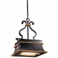Metropolitan Lighting N6111-20 FRENCH BLACK W/ GOLD LEAF HIGH MONTPARNASSE