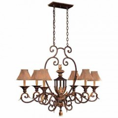 Metropolitan Lighting N6234-355 GOLDEN BRONZE ZARAGOZA