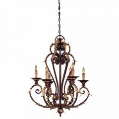 Metropolitan Lighting N6235-355 GOLDEN BRONZE ZARAGOZA