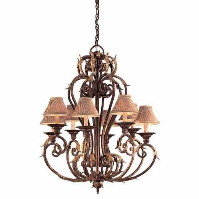 Metropolitan Lighting N6238-355 GOLDEN BRONZE ZARAGOZA