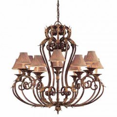 Metropolitan Lighting N6239-355 GOLDEN BRONZE ZARAGOZA