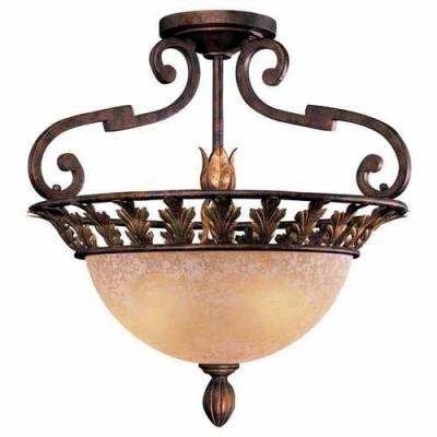 Metropolitan Lighting N6241-355 GOLDEN BRONZE ZARAGOZA