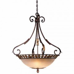 Metropolitan Lighting N6242-355 GOLDEN BRONZE ZARAGOZA