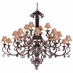 Metropolitan Lighting N6245-355 GOLDEN BRONZE ZARAGOZA