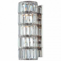 Metropolitan Lighting N6284-613 POLISHED NICKEL CRYSALYN FALLS