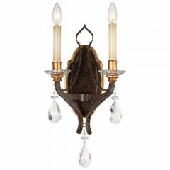 Metropolitan Lighting N6452-652 RAVEN BRONZE W/SUNBURST GOLD H CHATEAU NOBLES