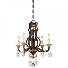 Metropolitan Lighting N6454-652 RAVEN BRONZE W/SUNBURST GOLD H CHATEAU NOBLES