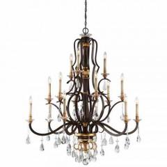 Metropolitan Lighting N6458-652 RAVEN BRONZE W/SUNBURST GOLD H CHATEAU NOBLES