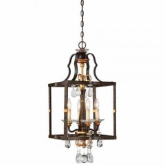 Metropolitan Lighting N6463-652 RAVEN BRONZE W/SUNBURST GOLD H CHATEAU NOBLES