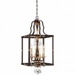 Metropolitan Lighting N6464-652 RAVEN BRONZE W/SUNBURST GOLD H CHATEAU NOBLES
