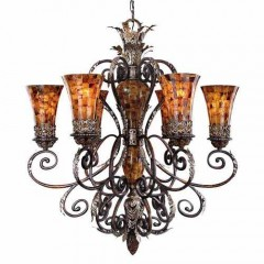 Metropolitan Lighting N6516-468 CATTERA BRONZE SALAMANCA
