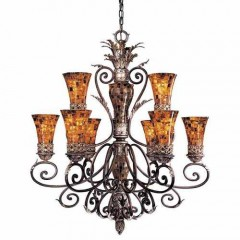 Metropolitan Lighting N6518-468 CATTERA BRONZE SALAMANCA