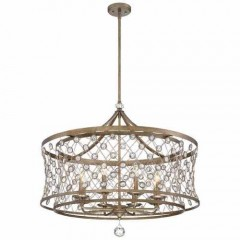 Metropolitan Lighting N6585-272 ARCADIAN GOLD VEL CATENA