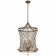 Metropolitan Lighting N6588-272 Arcadian Gold Vel Catena