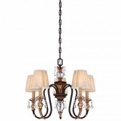 Metropolitan Lighting N6645-258B French Bronze w/ Gold Highligh Bella Cristallo