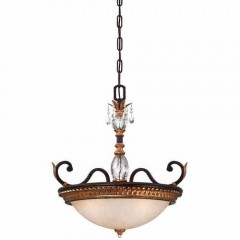 Metropolitan Lighting N6647-258B French Bronze w/ Gold Highligh Bella Cristallo