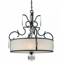 Metropolitan Lighting N6702-254 CASTELLINA AGED IRON CASTELLINA