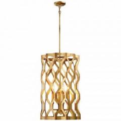 Metropolitan Lighting N6774-293 PANDORA GOLD LEAF