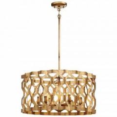 Metropolitan Lighting N6775-293 PANDORA GOLD LEAF