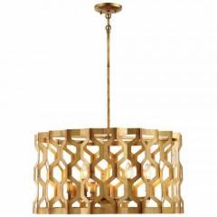 Metropolitan Lighting N6776-293 PANDORA GOLD LEAF