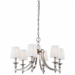 Metropolitan Lighting N6802-613 Polished Nickel Continental Classics