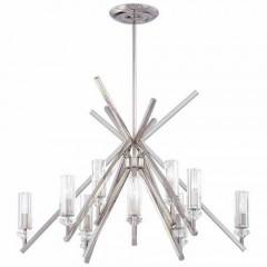 Metropolitan Lighting N6831-613 POLISHED NICKEL