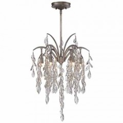 Metropolitan Lighting N6866-278 Silver Mist Bella Flora