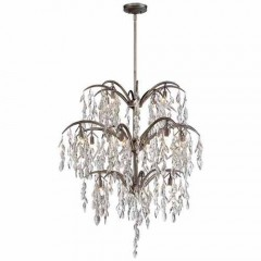 Metropolitan Lighting N6867-278 Silver Mist Bella Flora