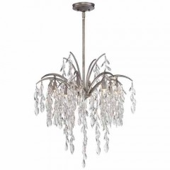 Metropolitan Lighting N6868-278 Silver Mist Bella Flora