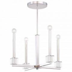 Metropolitan Lighting N6870-613 POLISHED NICKEL CHADBOURNE