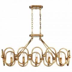 Metropolitan Lighting N6887-293 PANDORA GOLD LEAF