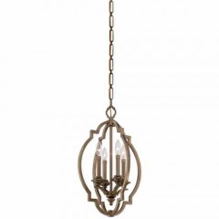 Metropolitan Lighting N6943-575 Aged Brass Leichester