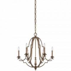 Metropolitan Lighting N6947-575 Aged Brass Leichester