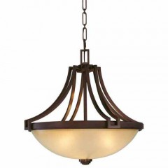 Metropolitan Lighting N6952-1-267B CIMMARON BRONZE UNDERSCORE