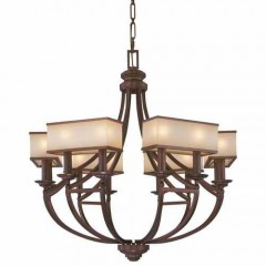Metropolitan Lighting N6957-1-267B CIMMARON BRONZE UNDERSCORE
