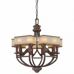 Metropolitan Lighting N6958-1-267B CIMMARON BRONZE UNDERSCORE