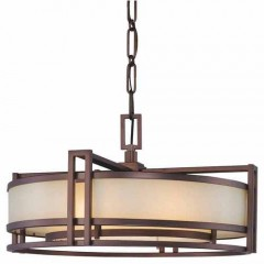 Metropolitan Lighting N6963-1-267B CIMMARON BRONZE UNDERSCORE