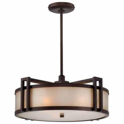 Metropolitan Lighting N6966-1-267B CIMMARON BRONZE UNDERSCORE