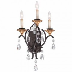 Metropolitan Lighting N7103-258B French Bronze w/ Gold Highligh CORTONA